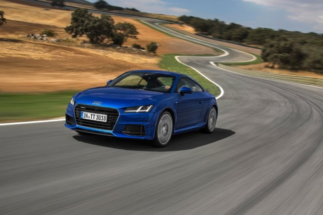 2016 Audi TT Efficiency