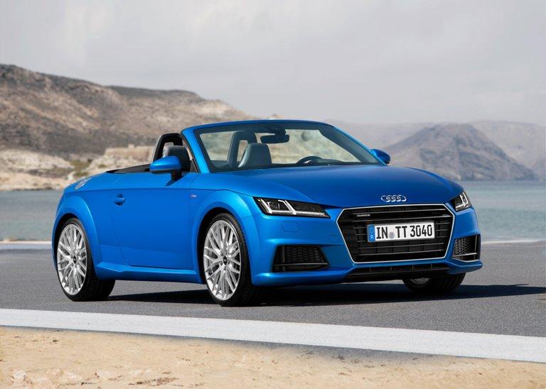 2016 Audi Tt Outside 3 The News Wheel