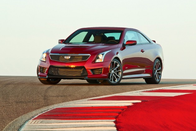 2016 Cadillac ATS-V performance photo