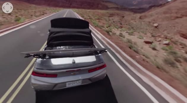 2016 Chevy Camaro convertible video