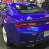 Blue 2016 Chevy Camaro rear