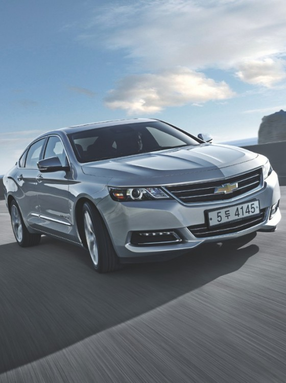 2016 chevy impala now on sale in south korea the news wheel. Black Bedroom Furniture Sets. Home Design Ideas