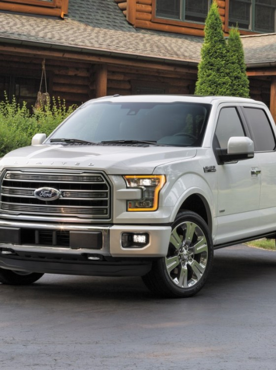 ford reveals 2016 f 150 limited trim the news wheel