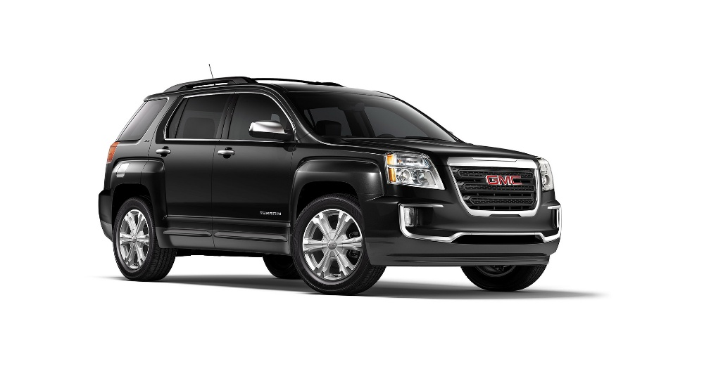 2016 gmc terrain all black the news wheel. Black Bedroom Furniture Sets. Home Design Ideas