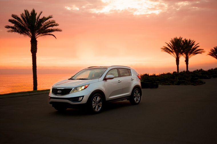 2016 Kia Sportage sunset