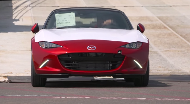 2016 Mazda MX-5 smiley face grille