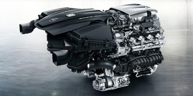 2016 Mercedes AMG GT Engine
