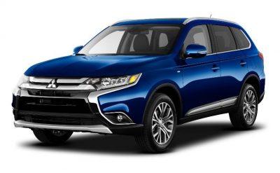 2016 Mitsubishi Outlander blue