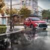 2016 Mitsubishi Outlander rain
