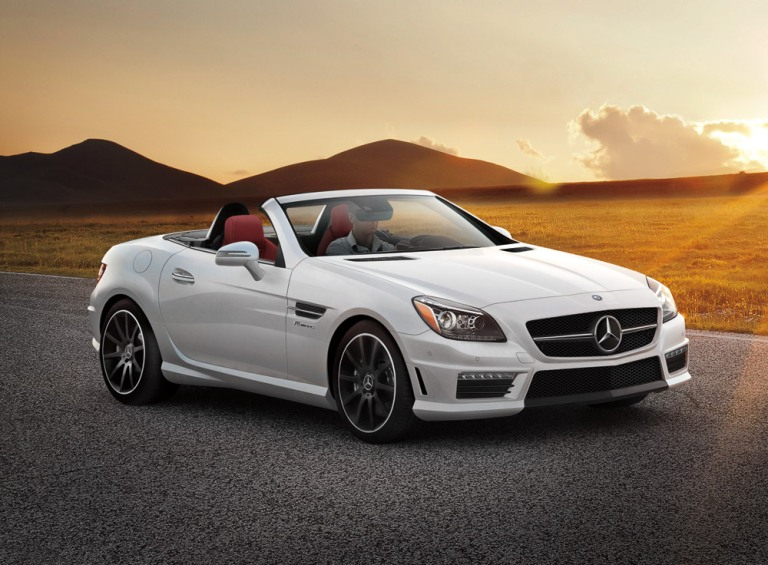 2016 mercedes benz slk class overview the news wheel. Black Bedroom Furniture Sets. Home Design Ideas