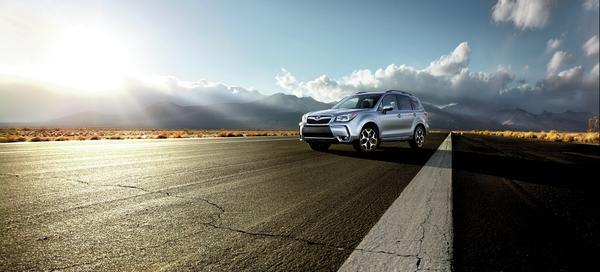 2016 Subaru Forester - subaru global architecture