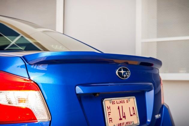 2016 Subaru WRX Rear