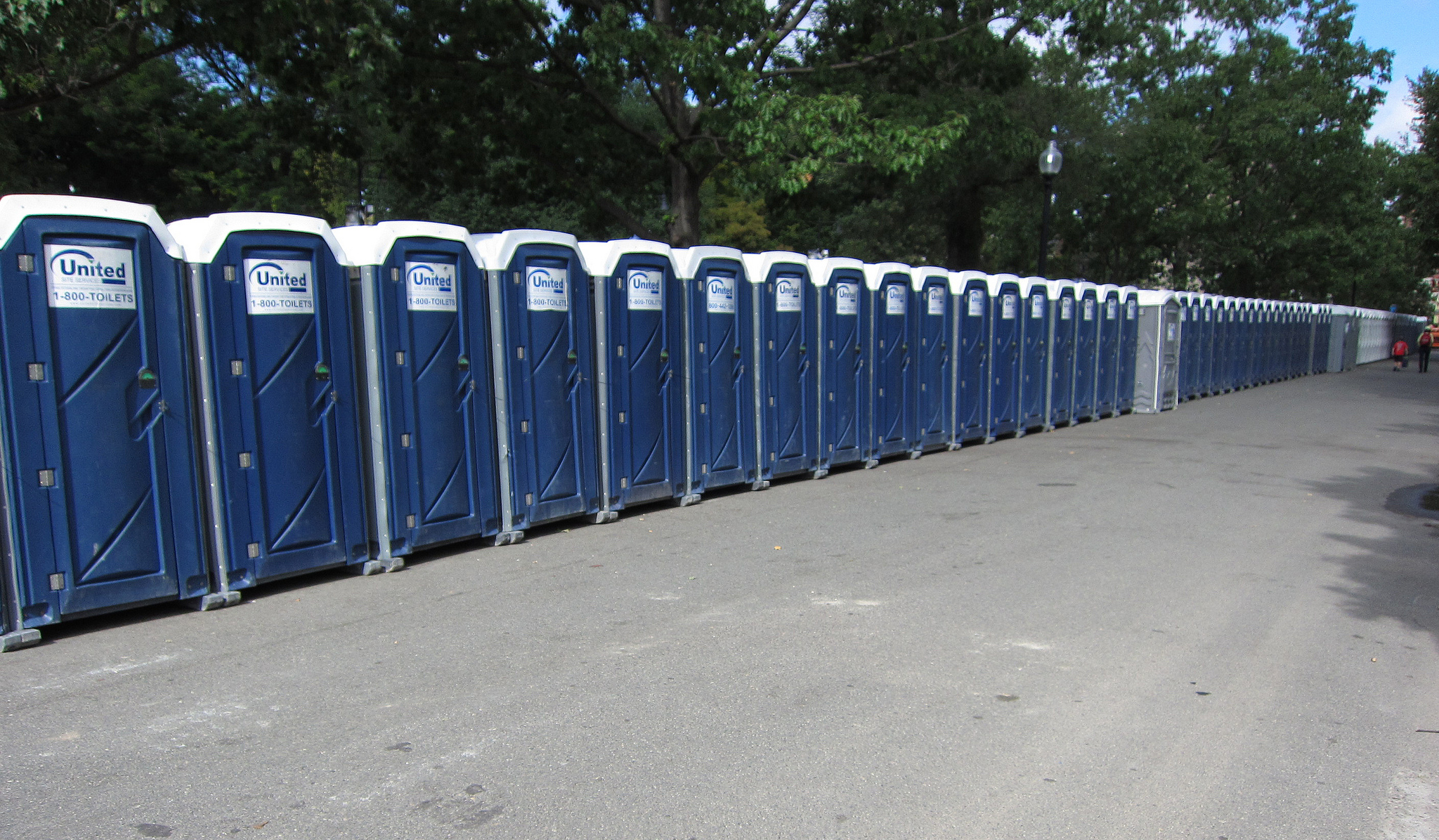 Port-a-potties