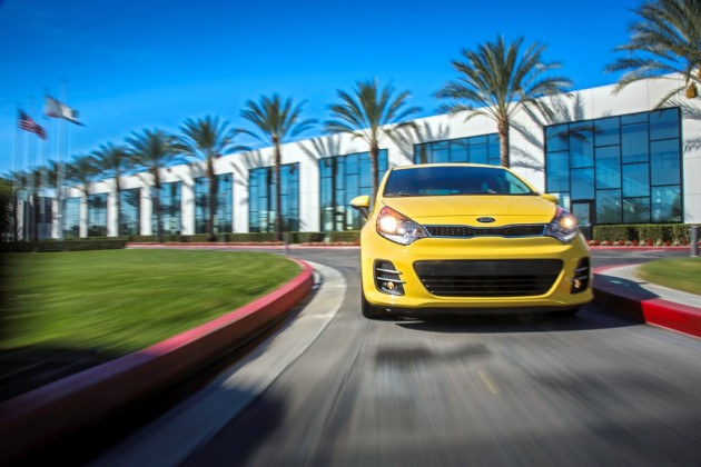 2016 Kia Rio 5-Door front end