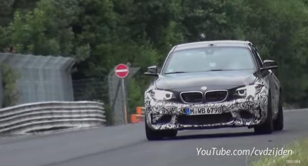 BMW M2 spy shots
