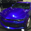 Blue 2016 Chevy Camaro at 2015 All-Star Game