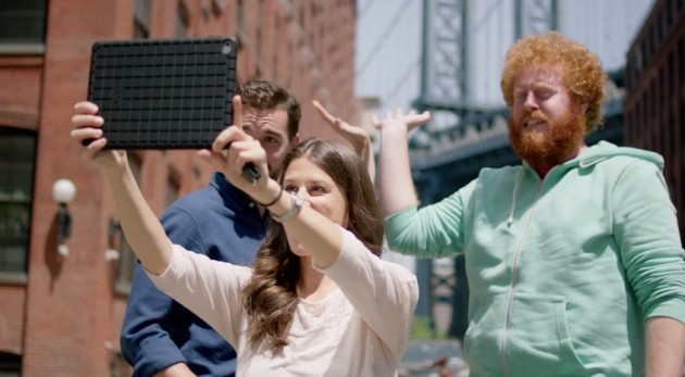 BuzzFeed writers use the Chevy Trax to find a great selfie spot in Brooklyn