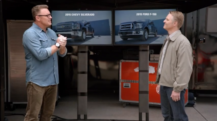 F-150 Repair Costs and Time - 2015 Chevy Silverado vs. 2015 Ford F-150