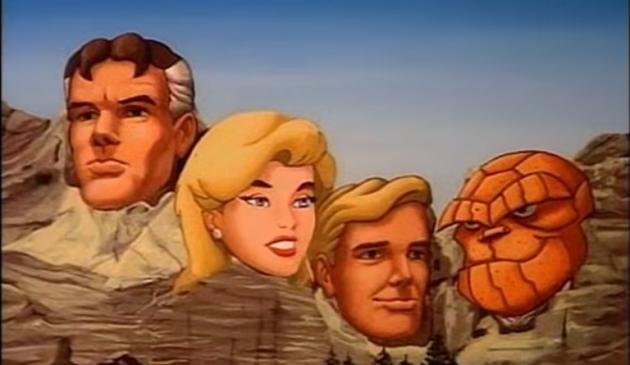 Fantasic Mt. Rushmore