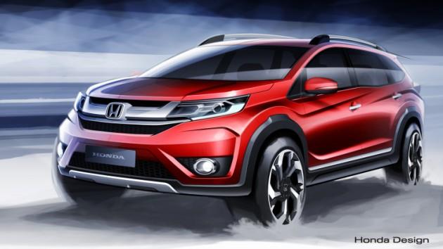 The 2015 Honda BR-V Concept