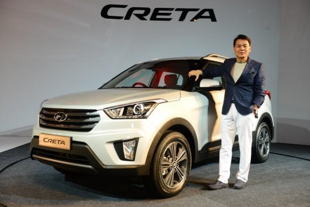 Hyundai Creta launch in India CUV crossover