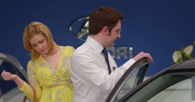 Hyundai UK's Honest Series Commercials Starring George the Salesman i10