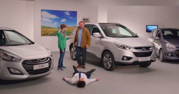 Hyundai UK's Honest Series Commercials Starring George the Salesman ix35