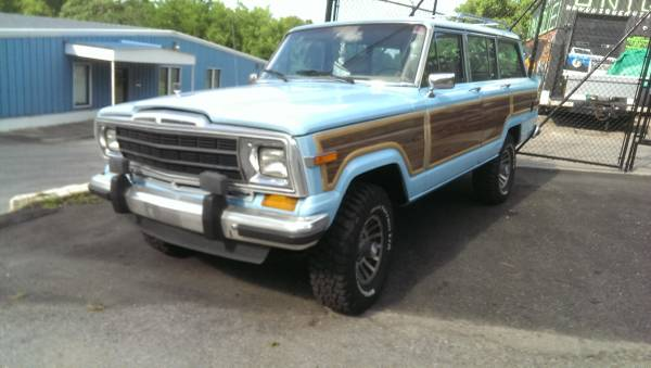 Jake Owens Grand Wagoneer