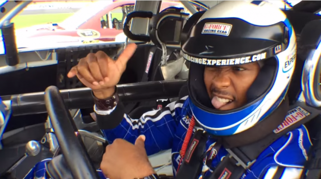 NFL player Josh Norman recently took part in the  NASCAR Racing Experience