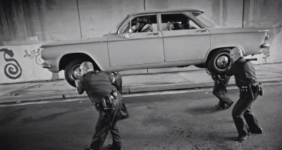 "Kendrick Lamar's classic Cadillac in ""Alright"" Video"