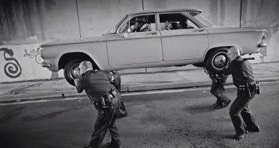"Kendrick Lamar's classic Cadillac in ""Alright"" Video"