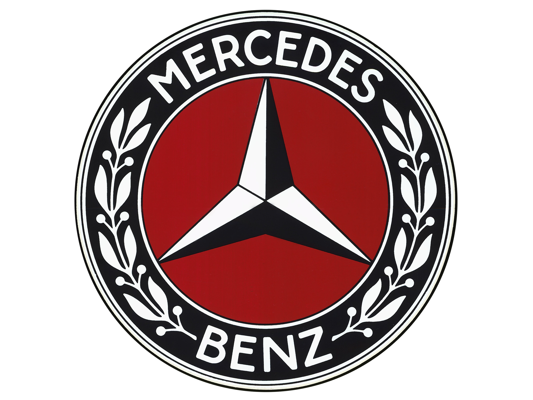 Behind the badge mercedes benz s star emblem holds a big for Mercedes benz insignia