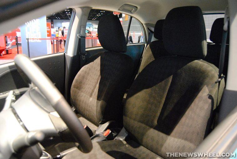 Mitsubishi i-MiEV seats