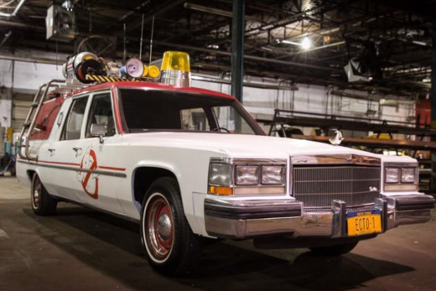 New Ecto-1 Ghostbusters Car