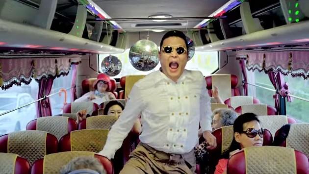 Psy Gangnam Style Car Crash