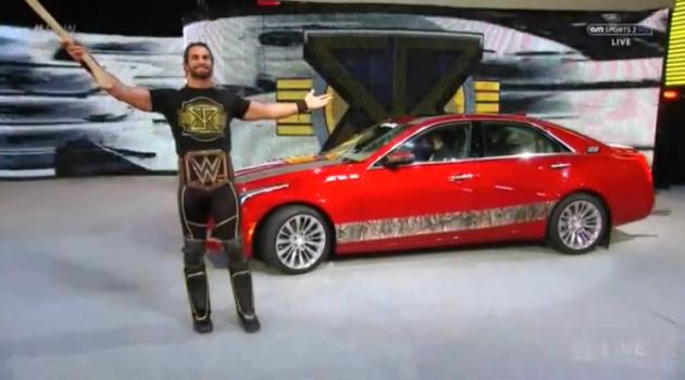 Seth with Cadillac