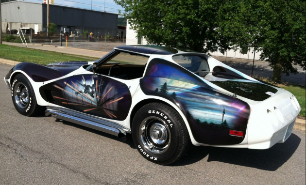 1974 Chevrolet Corvette Star Wars eBay listing