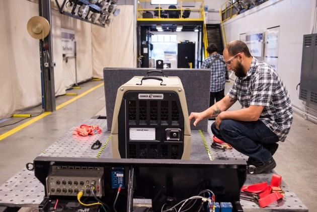 Subaru Crate Testing - Gunner Kennel