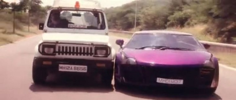 Taarzan The Wonder Car Indian Bollywood Movie police