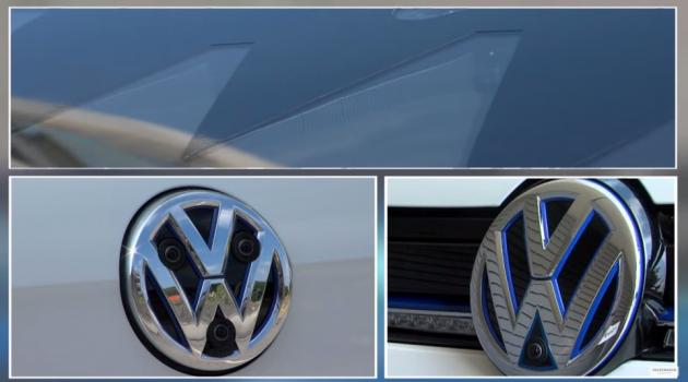 V-Charge Cameras and sensors VW