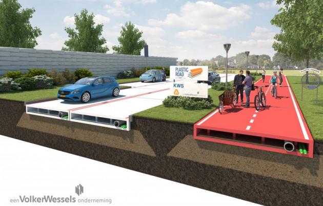 VolkerWessels Plastic Road