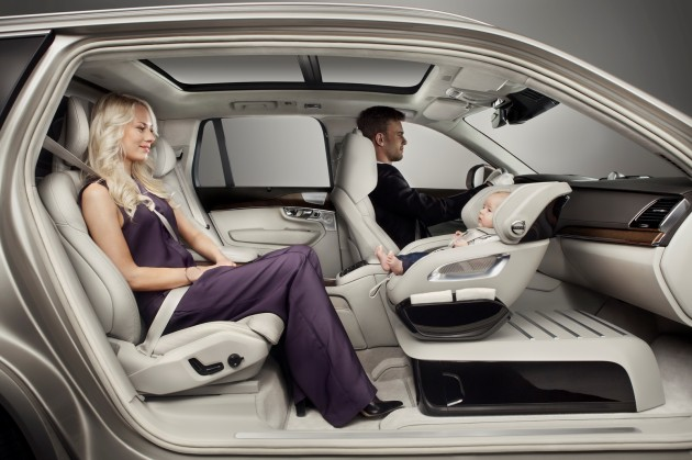 Volvo's Excellence Child Seat Concept