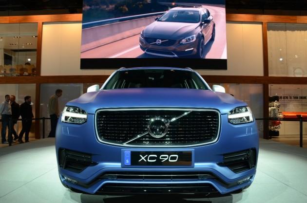 Volvo XC90 SUV driverless