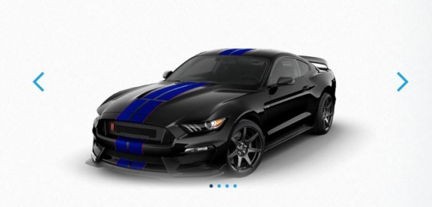 2016 Shelby GT350R with Stripe