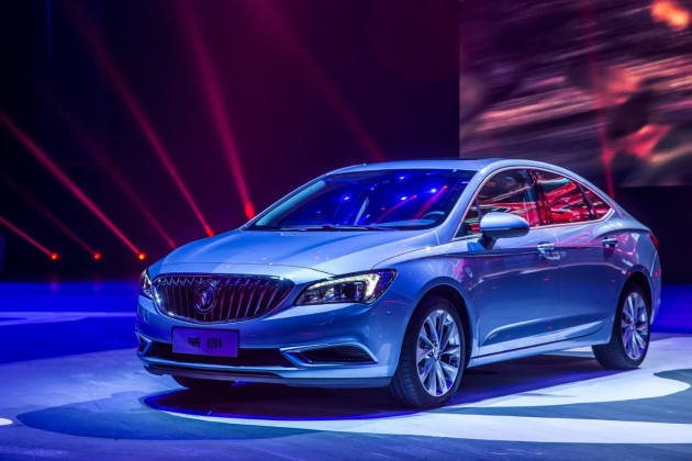 The all-new Buick Verano launched in Shanghai this week