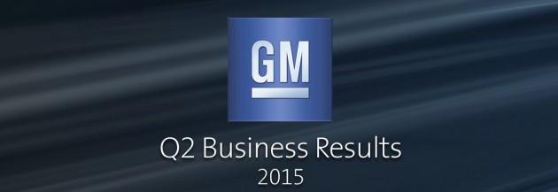 GM 2nd Quarter Report
