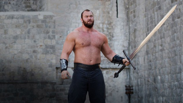 gregor clegane the mountain halfthor bjornsson