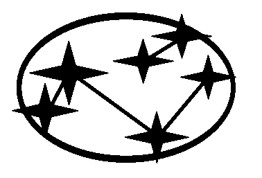 Old Subaru logo