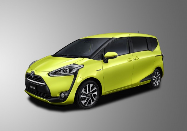 Toyota Sienta compact minivan
