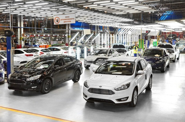 2015 Focus production gets underway at Ford Sollers' Vsevolozhsk Assembly Plant
